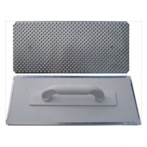 Škrabák plastový 400×175, poz. plech